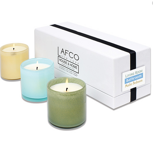 Set of 3 LAFCO candles