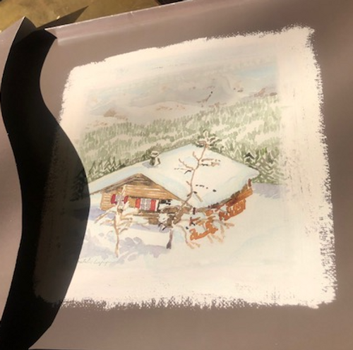"""Placemats Cabin Snow """"Cosy Collection"""""""