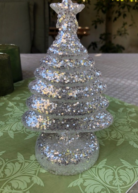 "8"" Christmas Tree, Battery operated"