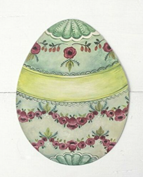 Table Accent Paper Easter Egg