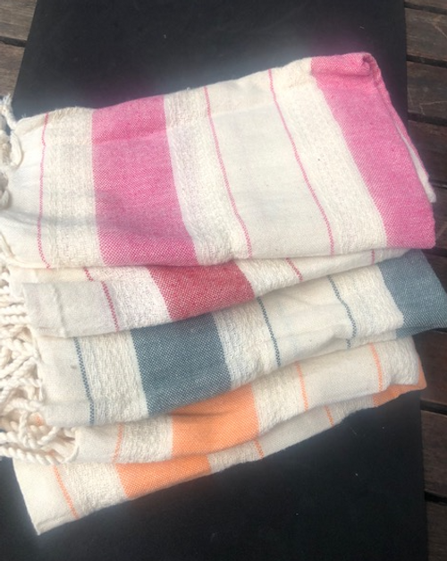 Hand Towels, Organic Cotton Foutah