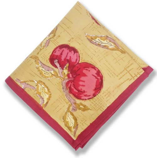 Apple Napkins, Set of 6