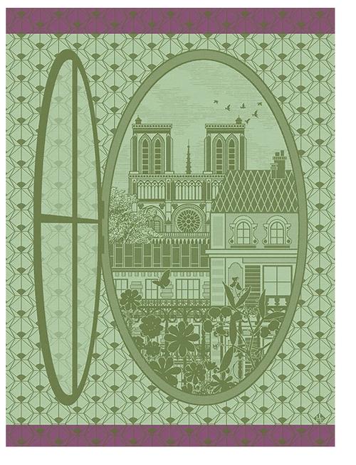 Fenetre sur Paris Kitchen Towel