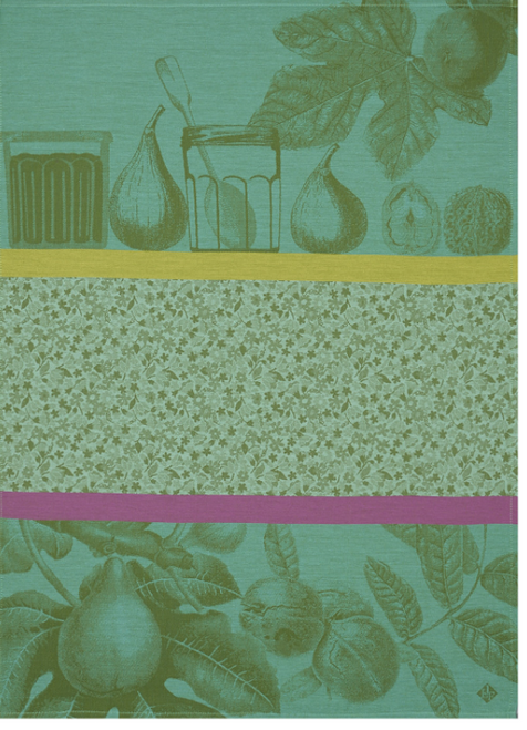 Confiture Kitchen Towel, Green