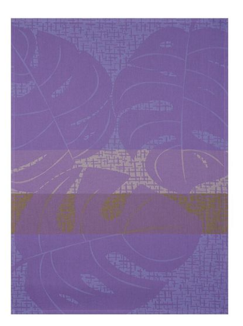 Urban Jungle Kitchen Towel, Purple