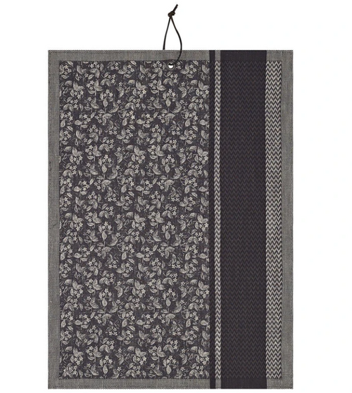 Slow Life Kitchen Towel to Hang, Carbon