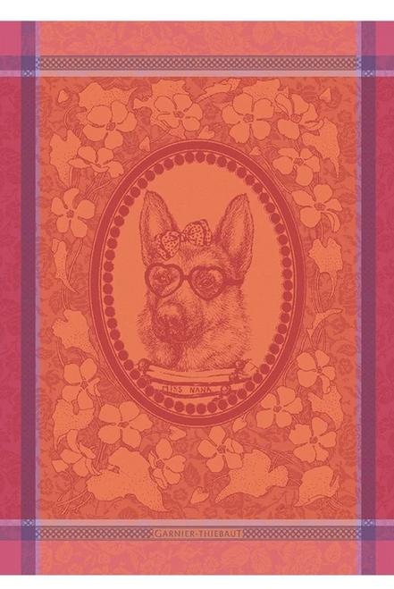 Madame Chien Dog  Kitchen Towel