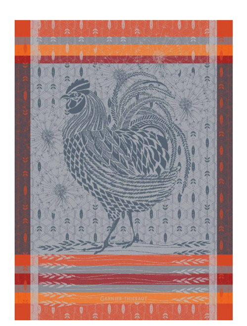 Coq Rooster Kitchen Towel