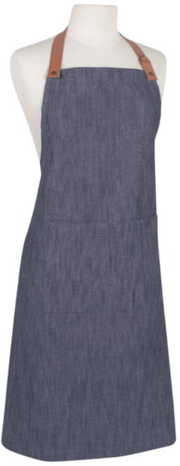Denim Apron made from Recycled Bottles
