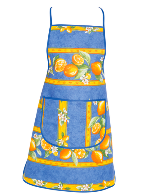 Lemon Apron, Blue, Green or Orange