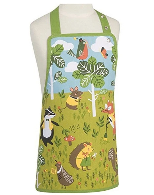 Kids Apron with Animals