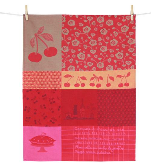 Cerise Kitchen Towel