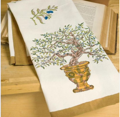 Olive Tree Kitchen Towel
