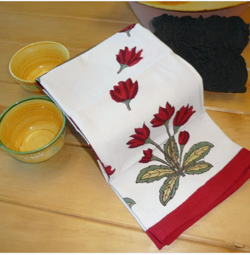 Crocus Kitchen Towel