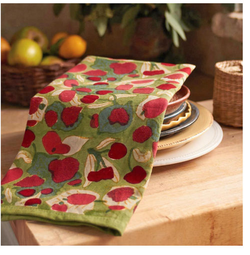 Fruit Red/Green Kitchen Towel