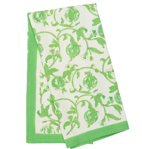 Granada Green Kitchen Towel