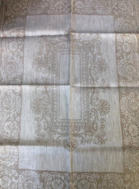 Linen Kitchen Towel, Beige