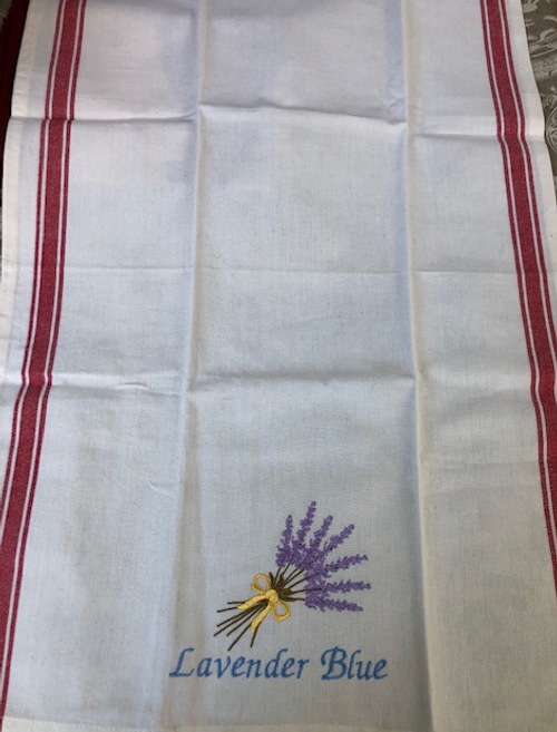 Lavender Blue Kitchen Towel