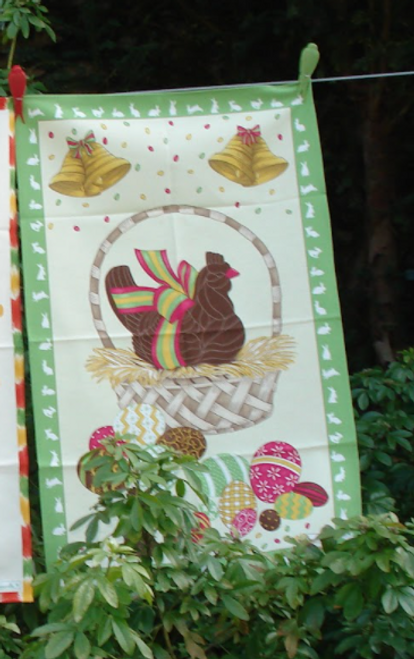 Easter Egg Kitchen Towel