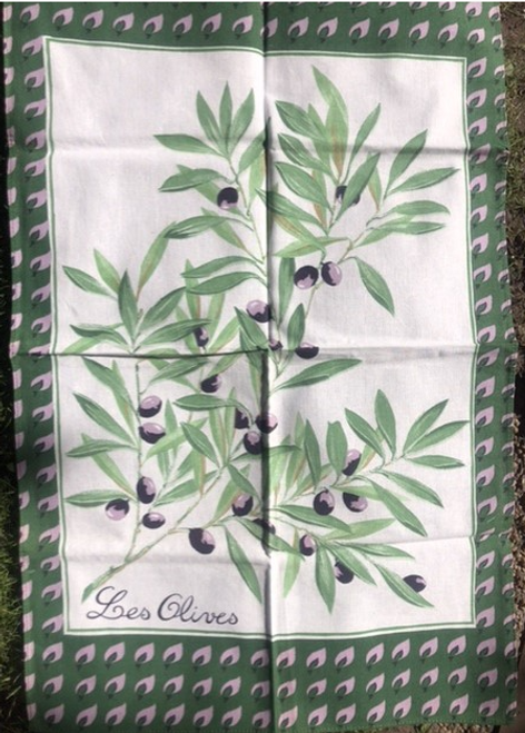Les Olives Kitchen Towel