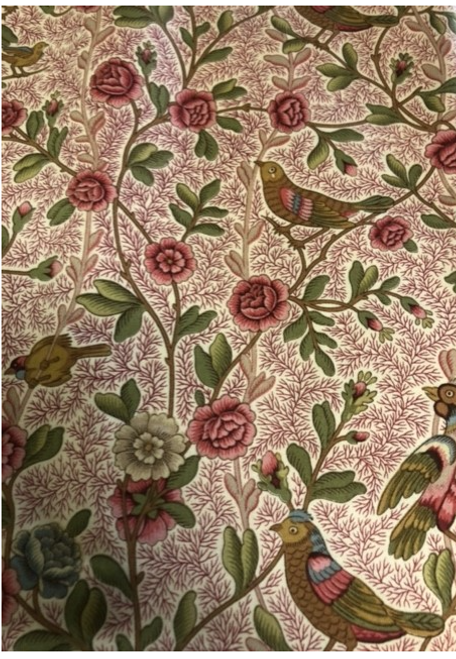 "Provence Tablecloth, Birds 44""x116"""