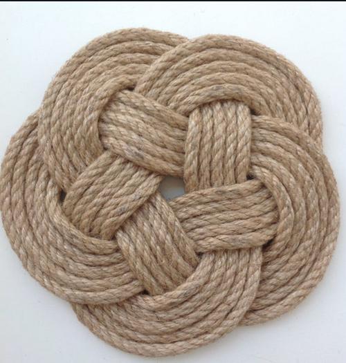 Sailor Knot Coaster, Set of 4