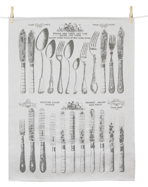 Couverts, Utensils Kitchen Towel