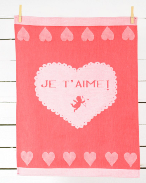 Je t'aime Kitchen Towel, Limited Edition
