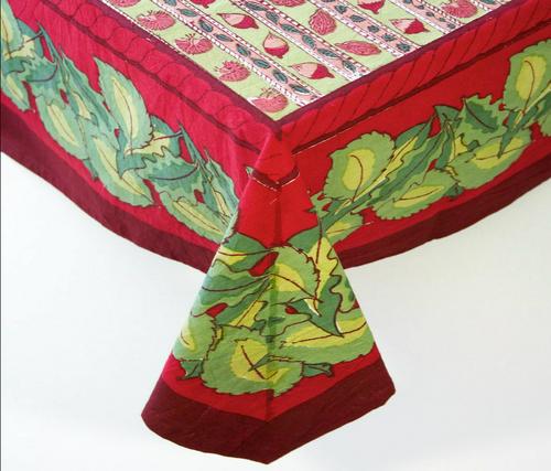 "Noix Tablecloth, Square 71""x71"""