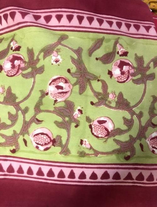 Pomegranate Green/Pink Runner