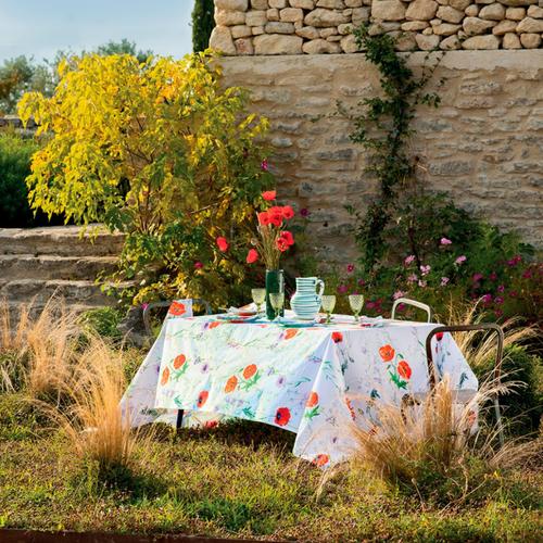 Mille Coquelicots Floraison, Organic Cotton