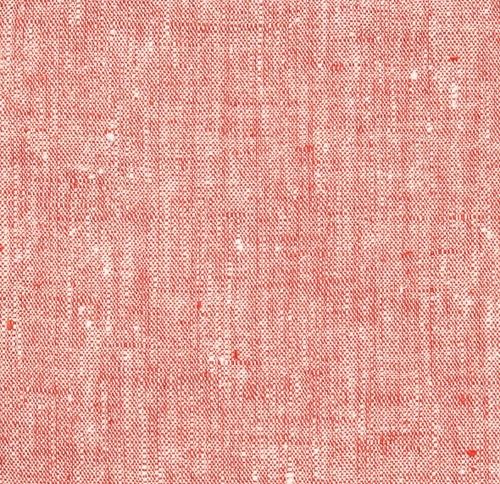 """Francesca Red Linen Tablecloth, Square 70"""" x 70"""""""