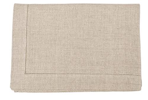 """Emilia Linen Tablecloth, Square 70"""" x 70"""""""