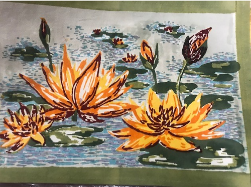 Lotus Placemats, Set of 6