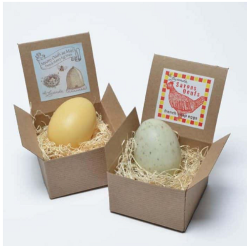 Egg Soap in a box