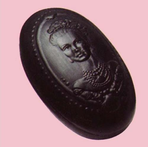Carob Mineral Cameo Soap