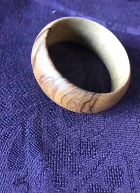 Olive Wood Bangle