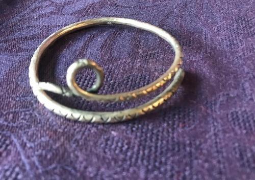 Silver Bracelet - Snake