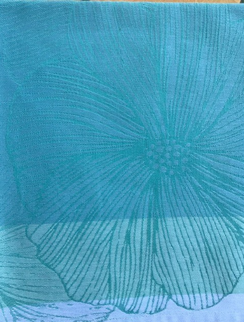 Small Tablecloth, Square Blue