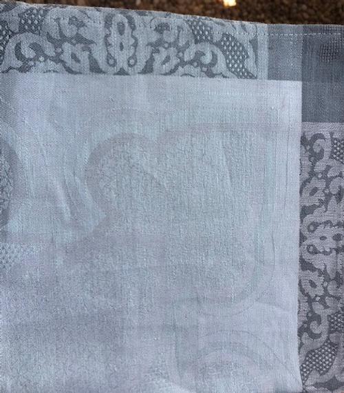 Small Tablecloth, Square Grey