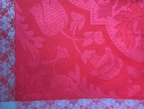 Small Tablecloth, Square Pink