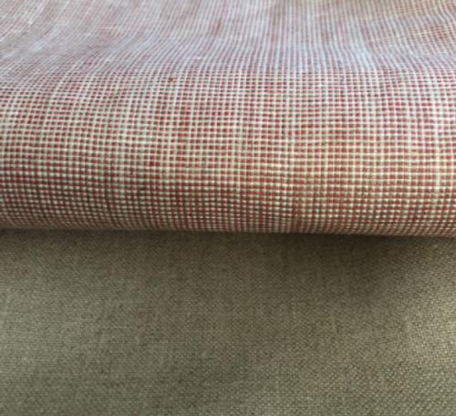 Coated Linen Tablecloths / Beige