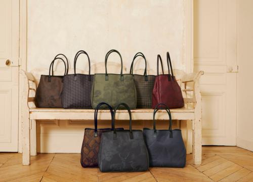 Custom Made Jacquard Francais Bag