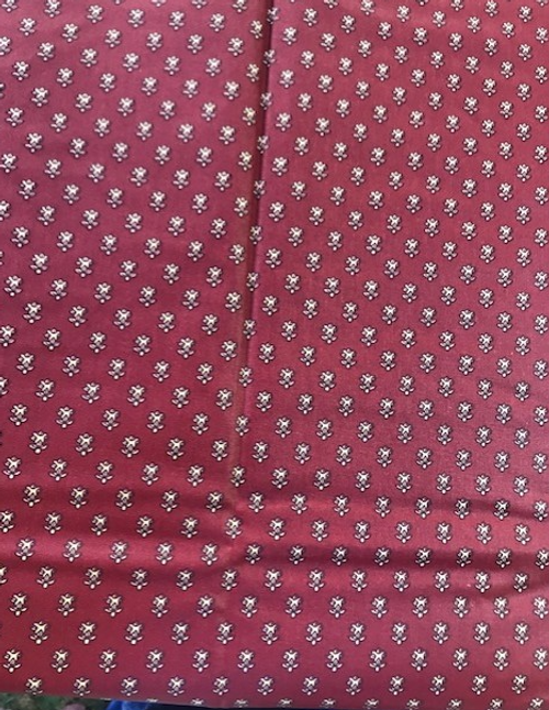 Red  Provence Coated Tablecloth