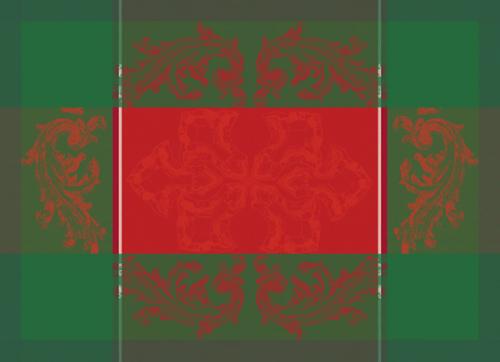 Noel Baroque Placemats, Set of 4