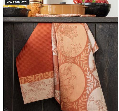 Josephine Red Kitchen Towel