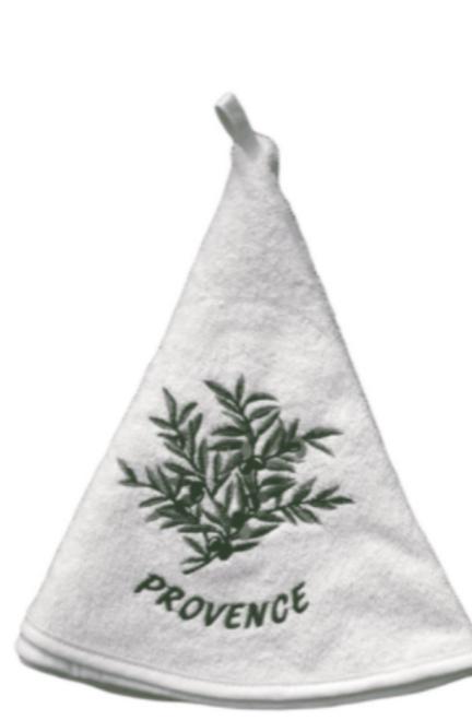 Round Towel, Olive