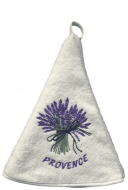 Round Towel, Lavender