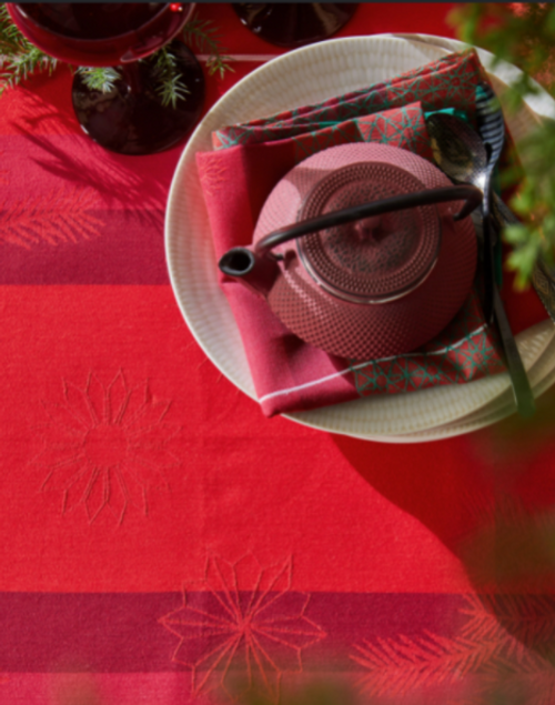 Hiver en Ecosse Placemats, Napkins, and a Free Gift