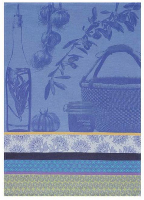 Saveurs de Provence Kitchen Towel Lavender Blue